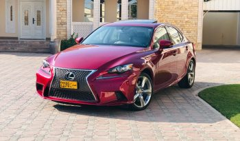 Lexus IS-Series 2015 full
